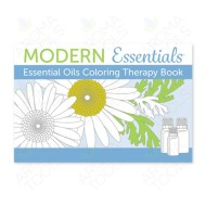 Modern Essentials: Essential Oil Coloring Therapy Book