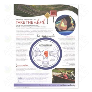 """Emotions & Essential Oils: Take the Wheel"" Tear Pad"