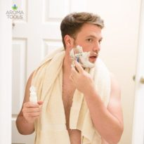 Shaving Cream and Aftershave Lotion