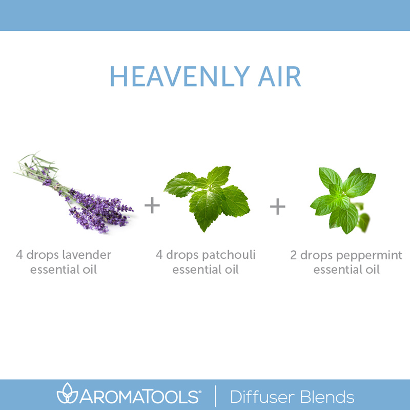 """Heavenly Air"" Diffuser Blend"