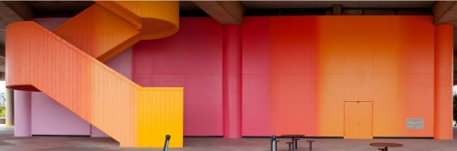 A Restored Milton Glaser Mural Allows Us To See Brutalism