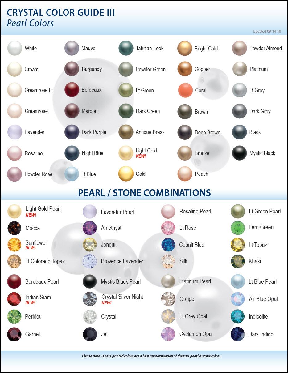 New Swarovski Color Charts Artbeads Blog