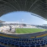 Visual Progres Konstruksi Stadion Manahan Solo