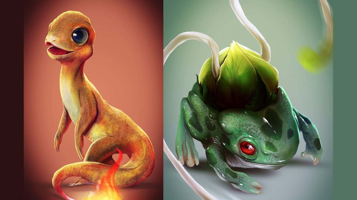 If Pokemon Were Real Digital Artlords