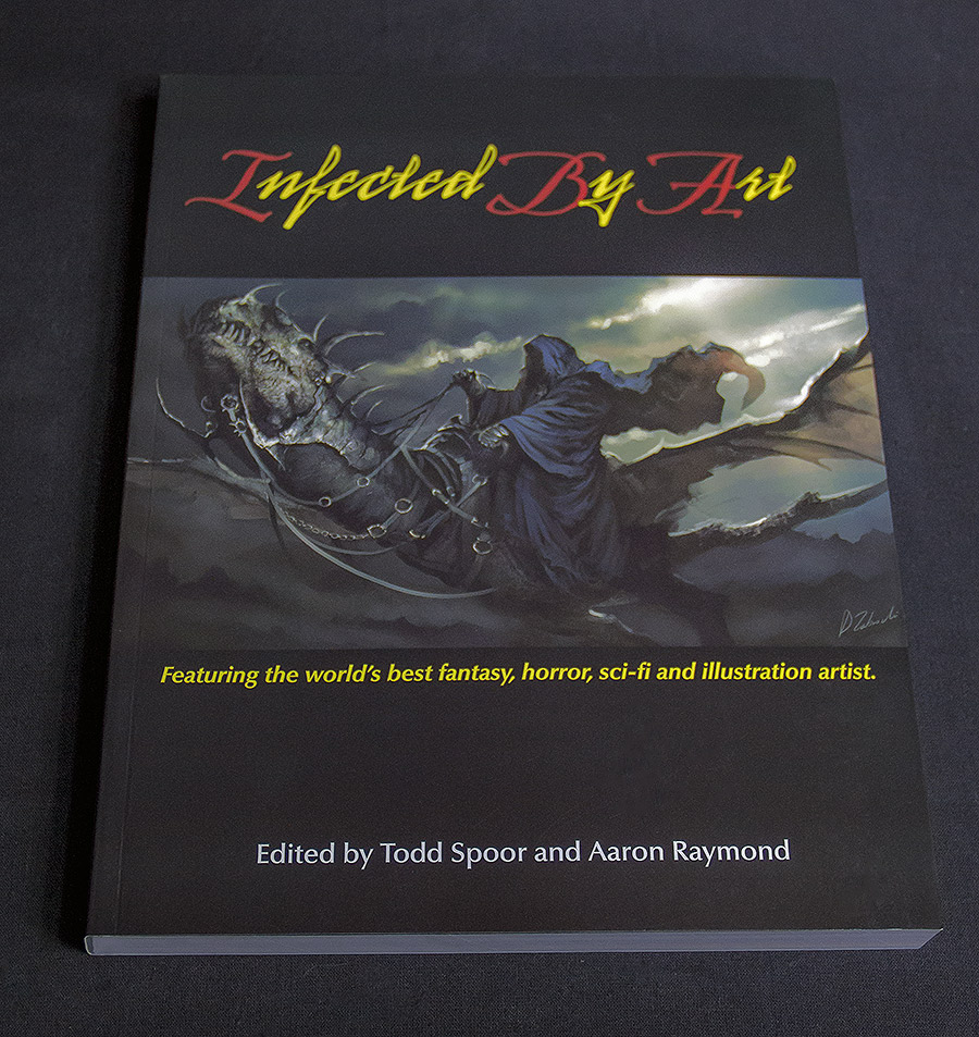 Artbook Review: Infected By Art Issue #1
