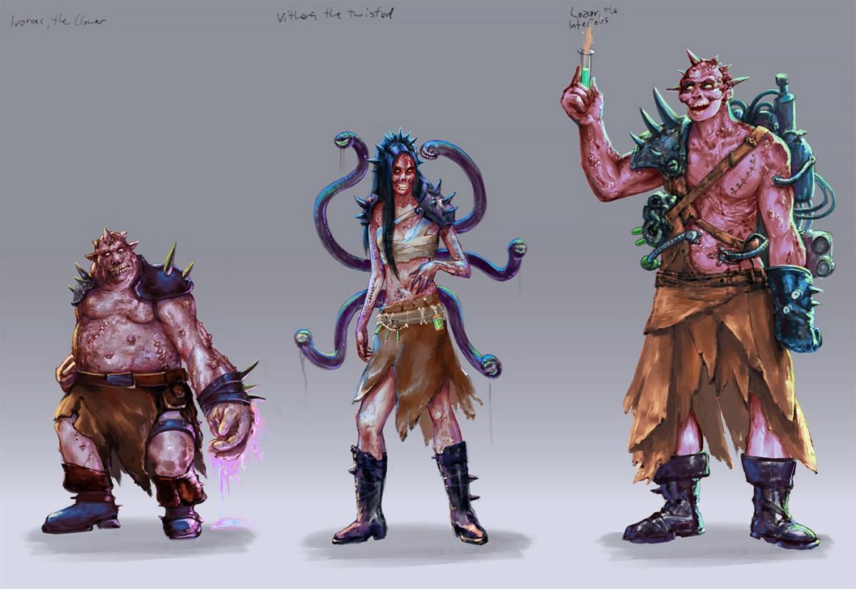 Creature & Character Design Portfolio