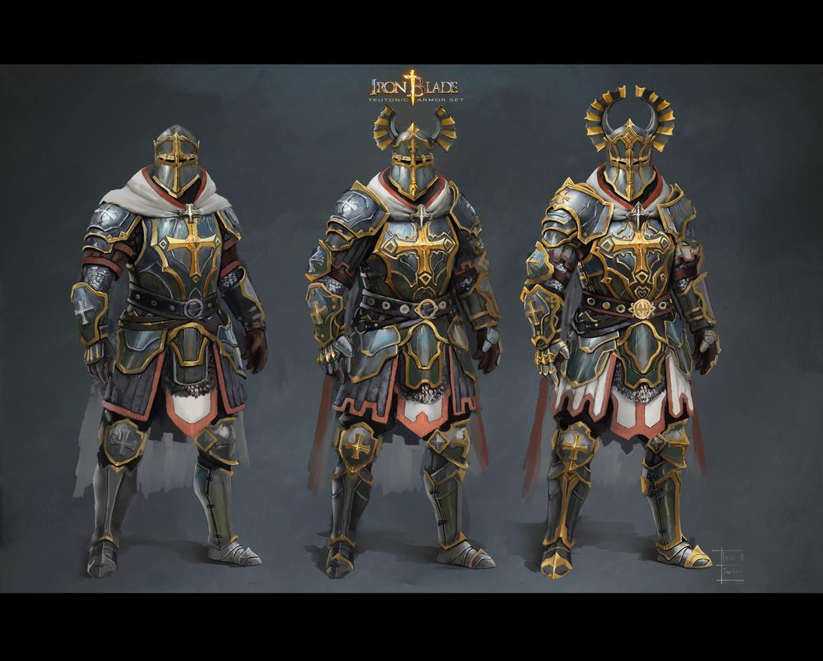Alex Lazar's Iron Blade Concept Art