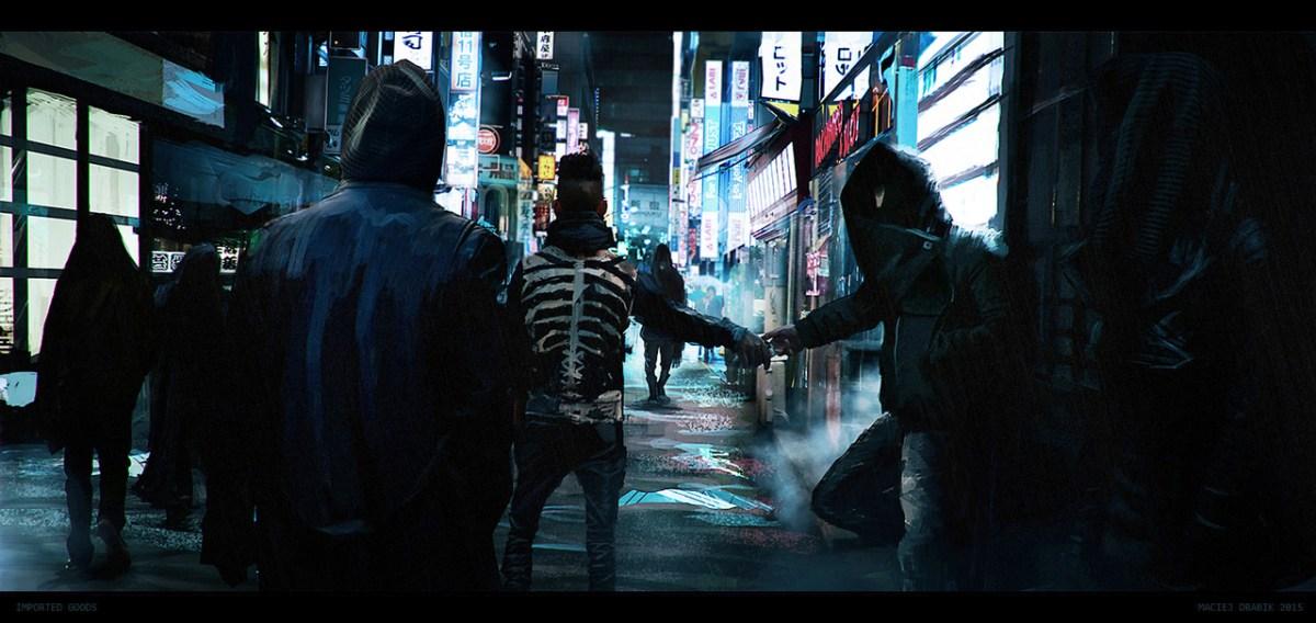 Mac Drabik's Urban Scenes