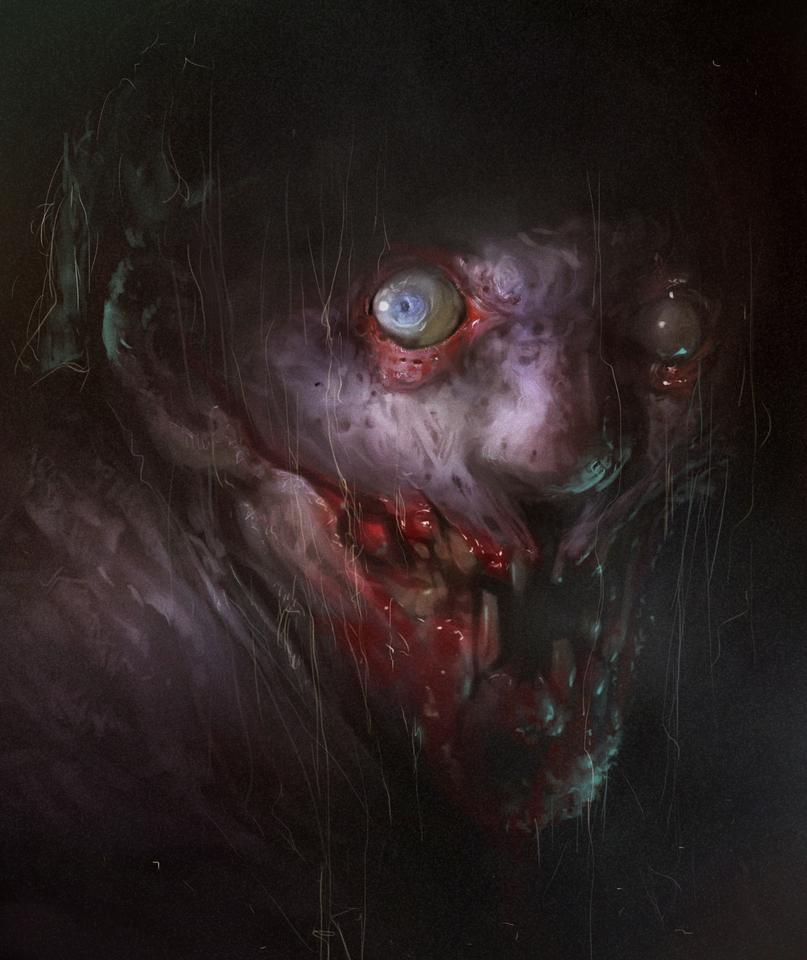 Vito Rafiie's Horror-like Gaping Maws
