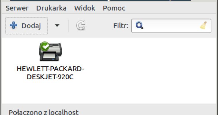 Linux błąd filtru i pytania o hasło drukarki – naprawa.