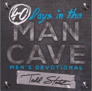 40 Days in teh Man Cave cover
