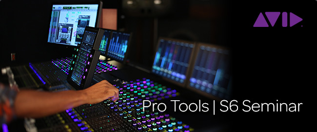 Launching Avid Pro Tools S6 BDS