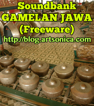 Banner Gamelan Jawa Freeware