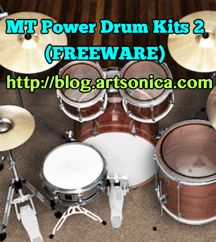 MT Power Drum Kit 2, VSTi Drum Freeware