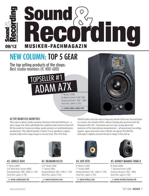 Top Seller Adam Aduo A7X