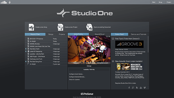 studio_one-start_page