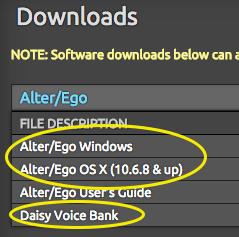 Download AlterEgo