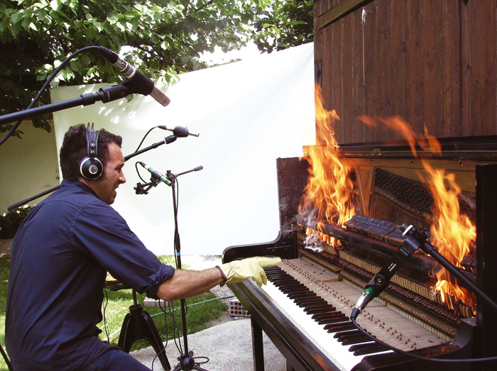 Burning Piano Omnisphere