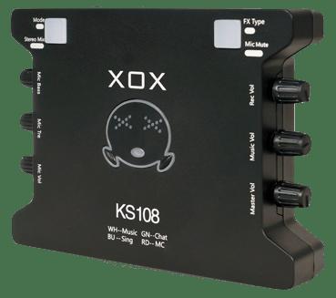 Tampak atas XOX KS108