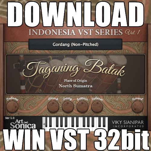 Taganing Batak (Windows VST 32bit)