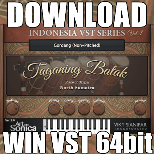 Taganing Batak (Windows VST 64bit)