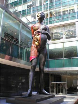 Virgin Mother, Damien Hirst