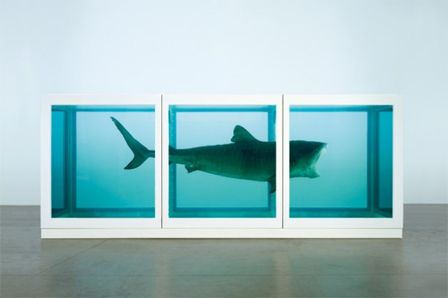 "Damien Hirst, ""The physical impossibility of  death in the mind of someone living"