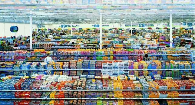99 Cent II Diptychon, Andreas Gursky