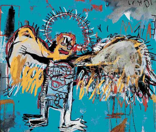Fallen Angel - Jean Michel Basquiat - 1981