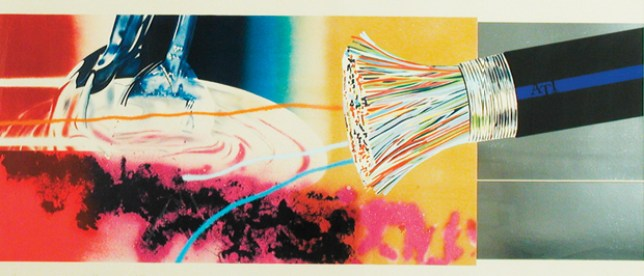 Horse blinders James Rosenquist