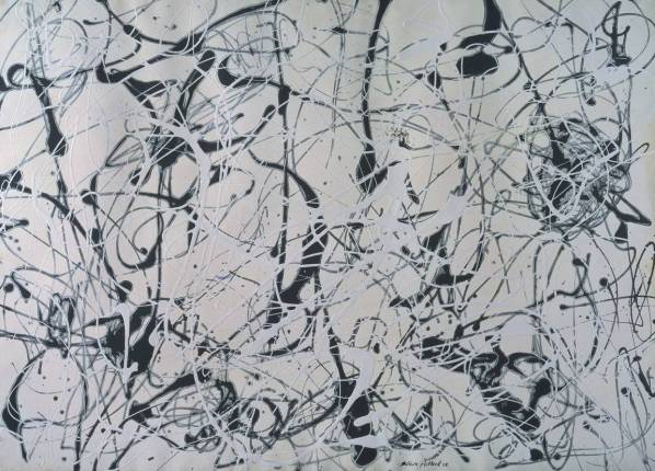 Number 23 1948 by Jackson Pollock 1912-1956