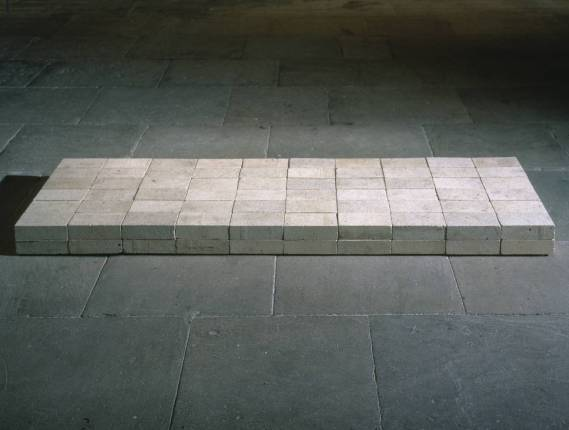 Minimalism, Equivalent VIII 1966 by Carl Andre born 1935