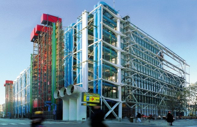 Centre Pompidou photographed by Amelie-Dupont