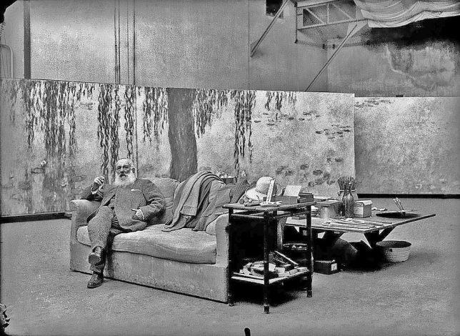 Claude Monet atelier