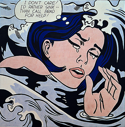 Roy_Lichtenstein_Drowning_Girl
