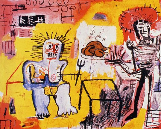 Jean-Michel Basquiat, Arroz con pollo, 1981