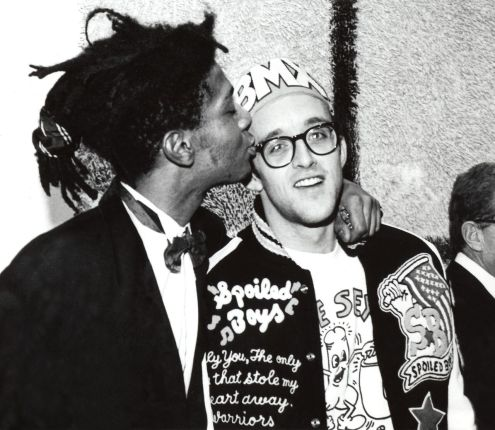 Keith Haring, Jean Michel Basquiat