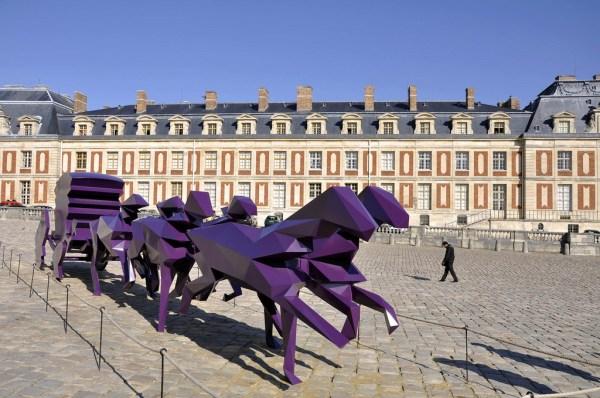 Xavier Veilhan à Versailles et l'art contemporain - copie