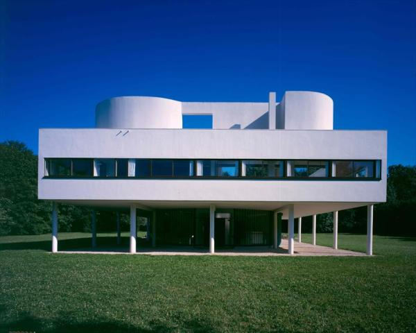 La Villa Savoye Crédits : Fondation Le Corbusier