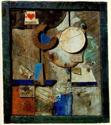 Collage, Kurt Schwitters