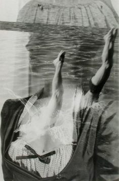 maurice-tabard-le-plongeon-1948-photographie-positive-photomontage-via-bnf