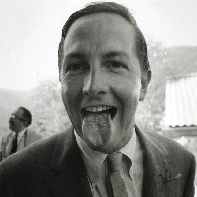 portrait de Robert Rauschenberg