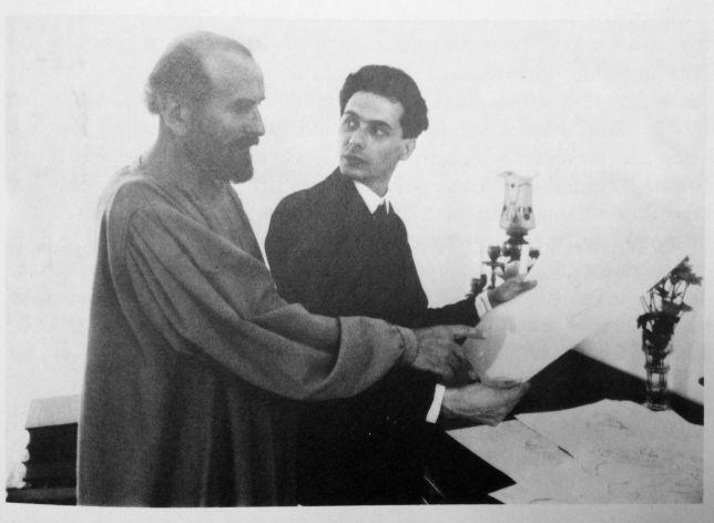 Gustav Klimt et Egon Schiele, 1908