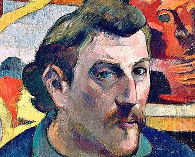 Paul Gauguin Autoportrait