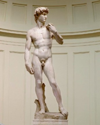 David, Michel-Ange, sculpture