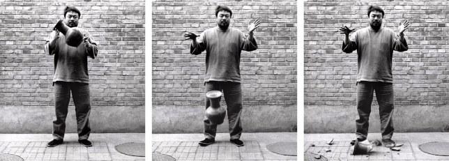 triptyque diptyque ai wei wei photographie
