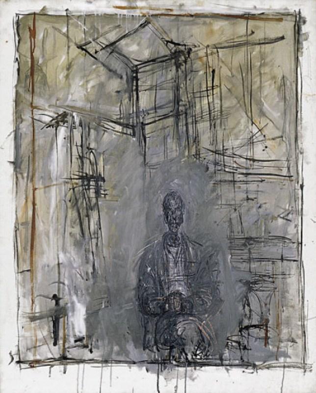 giacometti sculpture peinture