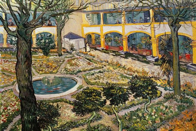 Van Gogh, Hôpital d'Arles