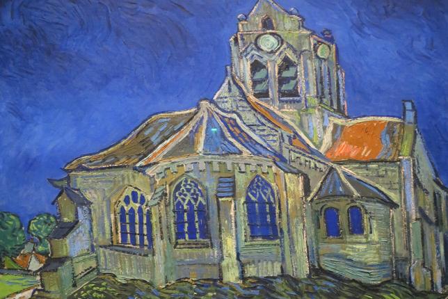 Van Gogh L'Église d'Auvers-sur-Oise,