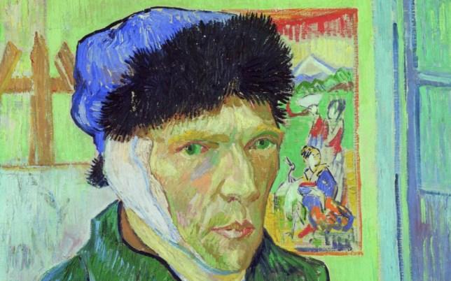Van Gogh l'oreille coupée